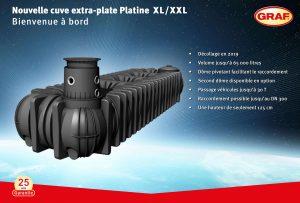 Nouvelle cuve Platine de 1500 à 65000 litres